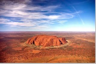 Kenampakan alam dan ciri - ciri khas benua Australia