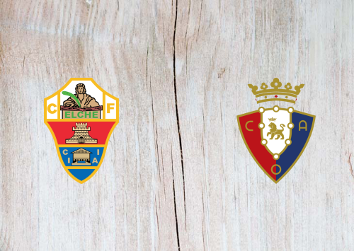 Elche vs Osasuna -Highlights 22 December 2020