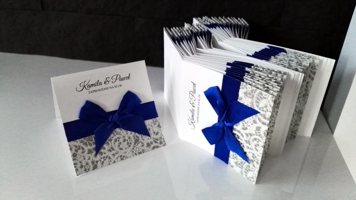 Papierowe Marzenia Zaproszenia ślubne Zaproszenia ślubne Koronka
