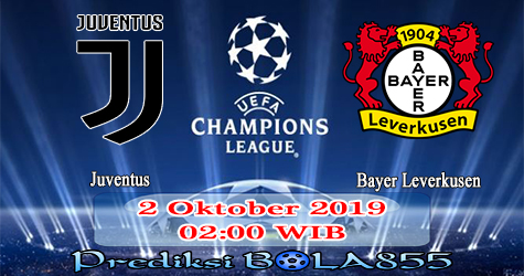Prediksi Bola855 Juventus vs Bayer Leverkusen 2 Oktober 2019