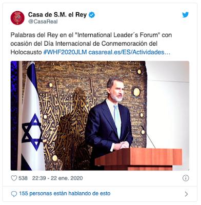 https://twitter.com/CasaReal/status/1220098679496941569?ref_src=twsrc%5Etfw%7Ctwcamp%5Etweetembed%7Ctwterm%5E1220098679496941569&ref_url=https%3A%2F%2Fwww.diariocritico.com%2Fnacional%2F-rey-felipe-memoria-historica-del-holocausto