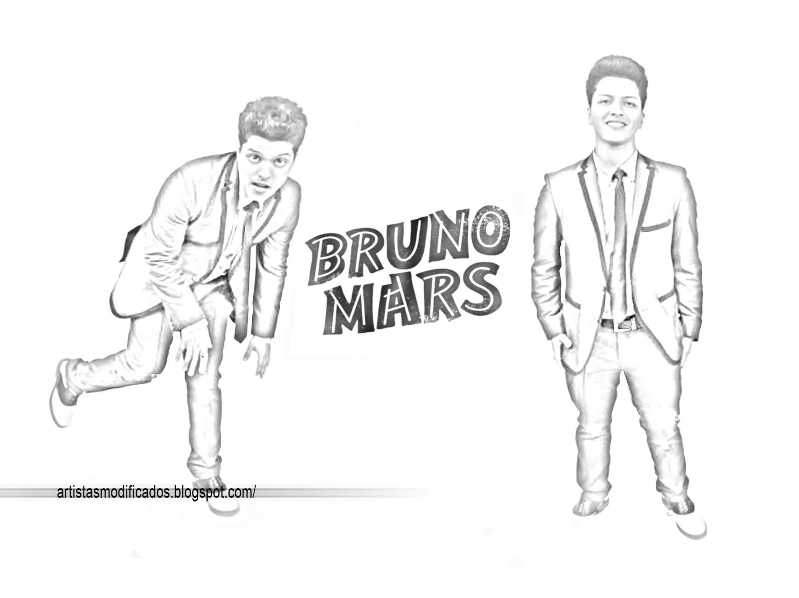 bruno mars coloring pages | Bruno Mars Coloring Pages Coloring Pages