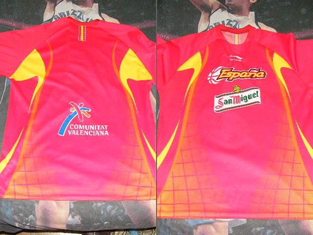 Camiseta selección española baloncesto   MueveteBasket.es