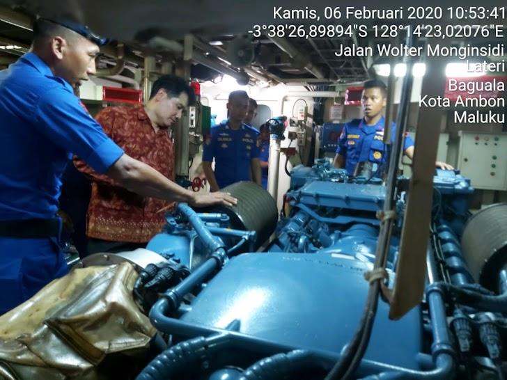Kompolnas Tinjau Kesiapan Kapal Polair Dalam Pengamanan Pilkada Serentak Tahun 202
