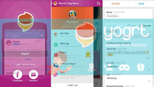 Kumpulan Aplikasi Android Mencari Orang & Teman Baru Di Sekitar Kita Terbaik 2019