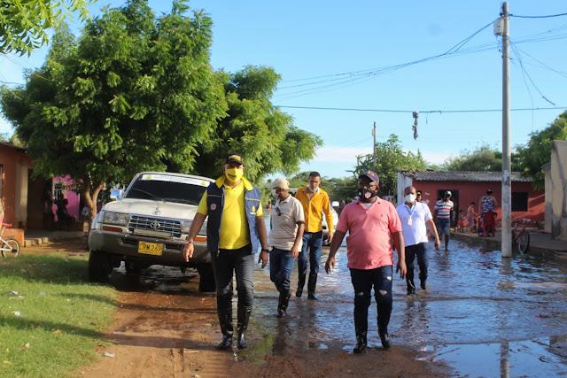 hoyennoticia.com, Alcalde de Maicao anuncia soluciones para afectados por lluvias