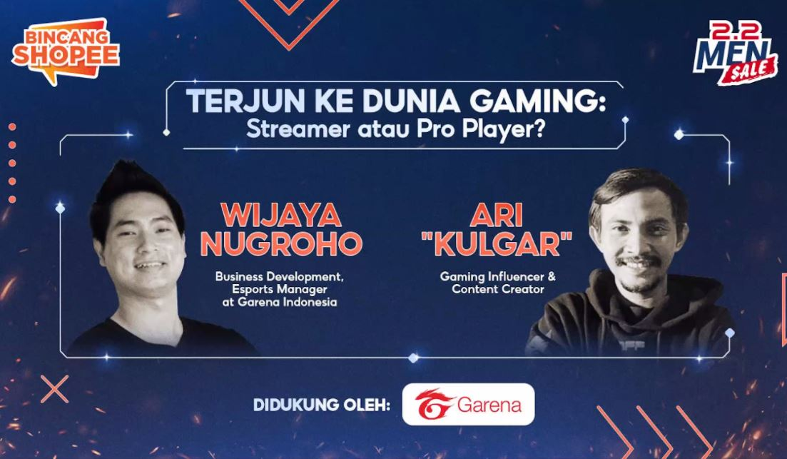 Pilih Streamer atau Pro Player? Ini Tips Berkarir di Industri Game Online