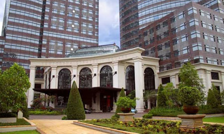 Facade GRC Pada Gedung Sampurna Strategic Square