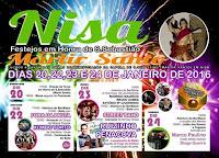 Programa Festa de São Sebastião em Nisa 2016