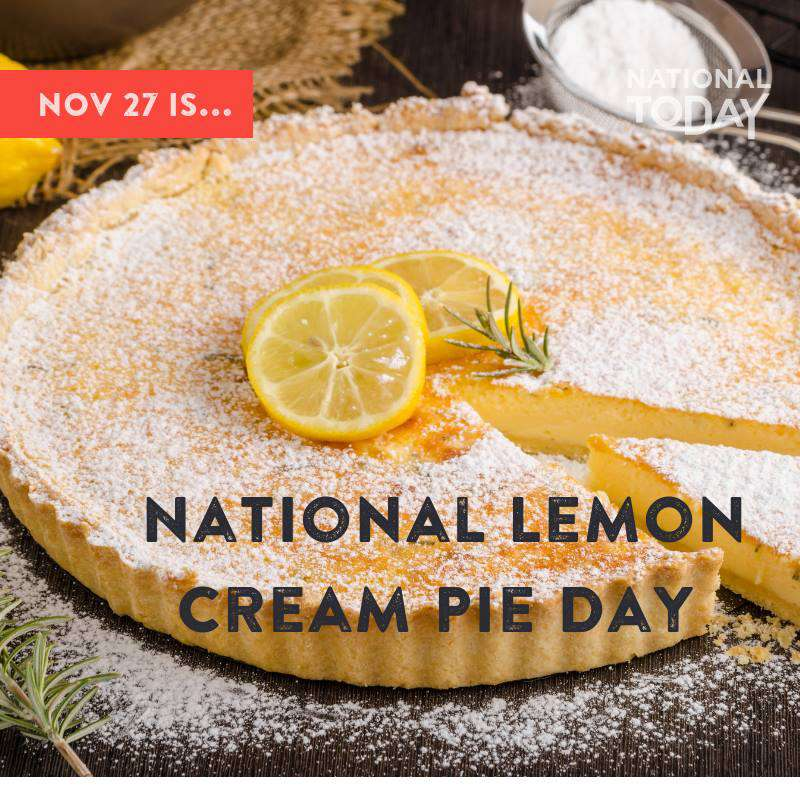 National Lemon Cream Pie Day Wishes for Whatsapp