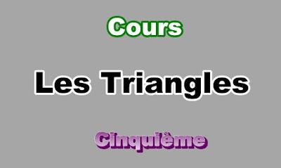 Cours Sur Les Triangles 5eme en PDF