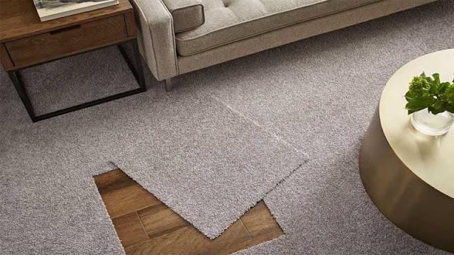 selain keramik, lantai karpet solusinya