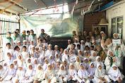 Yayasan Sosial dan Dakwah Bustanul Ma'rif Melaksanakan Kegiatan Peraktek Menasik Haji dengan Mahasiswa Magang Prodi Pengembangan Masyarakat Islam