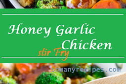 Delicious Honey Garlic Chicken Stir Fry Recipe