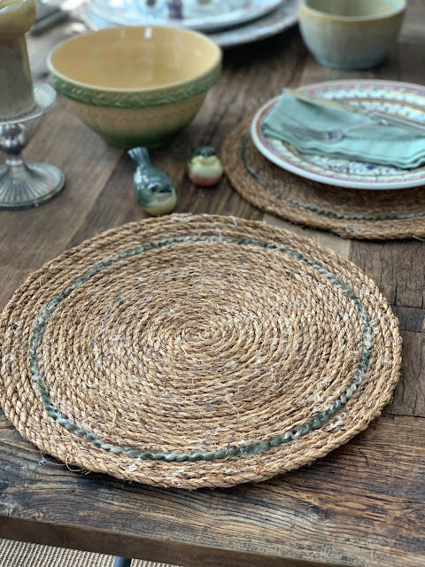 How to make rustic rope placemats