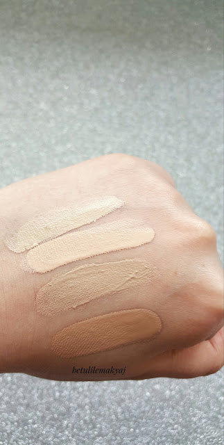 foundation swatch