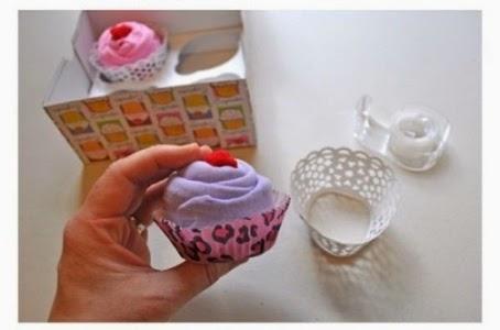 Cara Membuat Kerajinan Tangan Unik, Cupcake Bunga 7