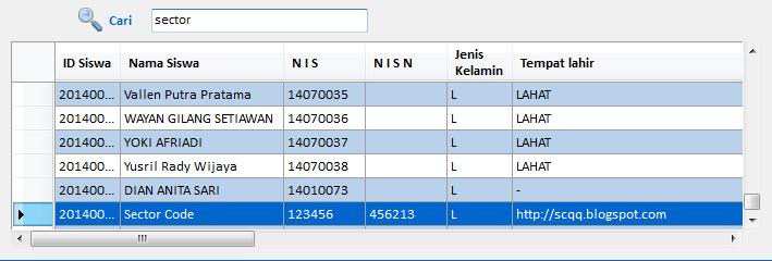 Tutorial Vb.Net : Fungsi Search / Cari Data di DataGridView
