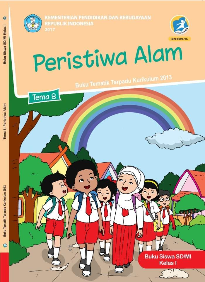 Buku Siswa Tematik SD Kelas 1 Tema 8 Peristiwa Alam