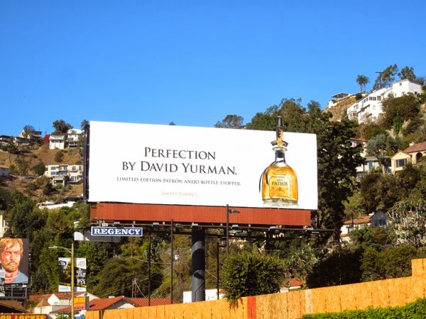 David Yurman Patron Anejo Tequila billboard