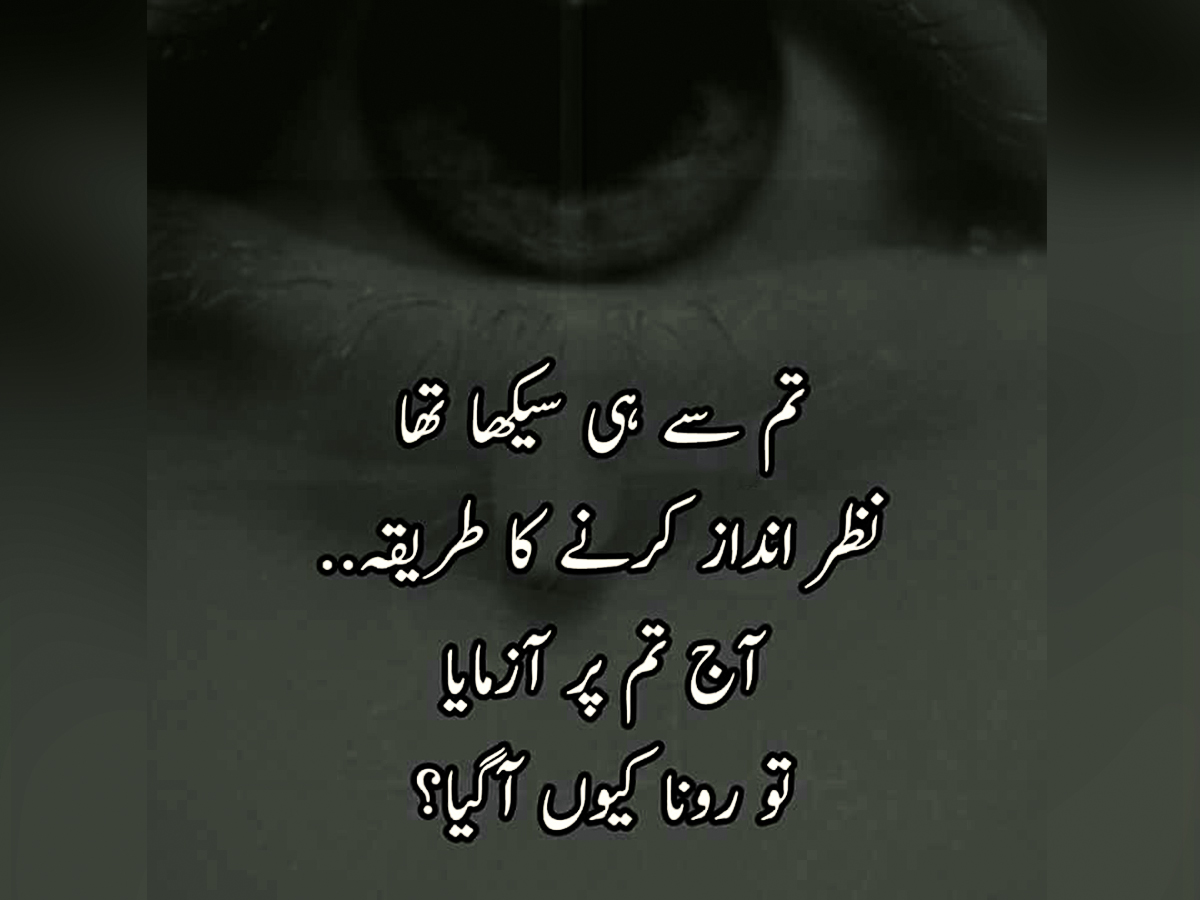 Best Urdu Quotes About People Love Images - Urdu Thoughts
