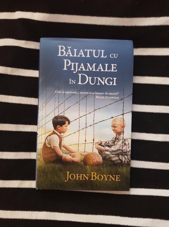 [Recenzie] Baiatul cu pijamale in dungi - John Boyne