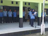 Kecamatan Caringin mengadakan Apel Kesadaran Nasional