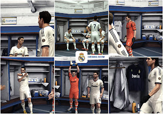 Dressing Room Real Madrid