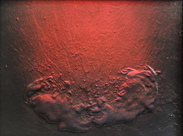 José Orús arte moderno contemporáneo pintura expressionista rojo
