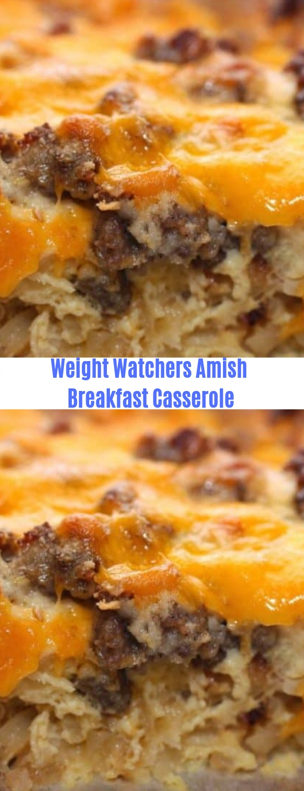 Weight Watchers Amish Breakfast Casserole