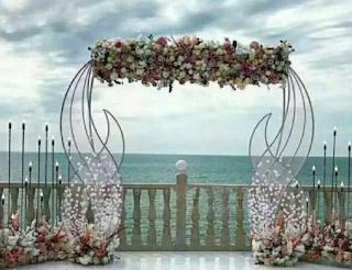 Hochzeit-Deko-Kulissenständer,
