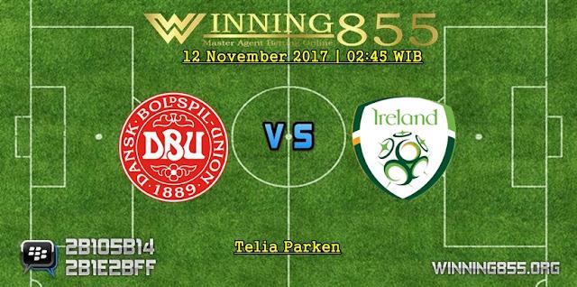 Prediksi Denmark vs Republik Irlandia | 12 November 2017
