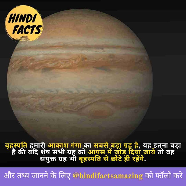 Jupiter in Hindi -  बृहस्पति ग्रह के बारे में 30+ रोचक तथ्य