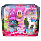 My Little Pony Daffidazey Building Playsets Twist & Style Petal Parlor G3 Pony