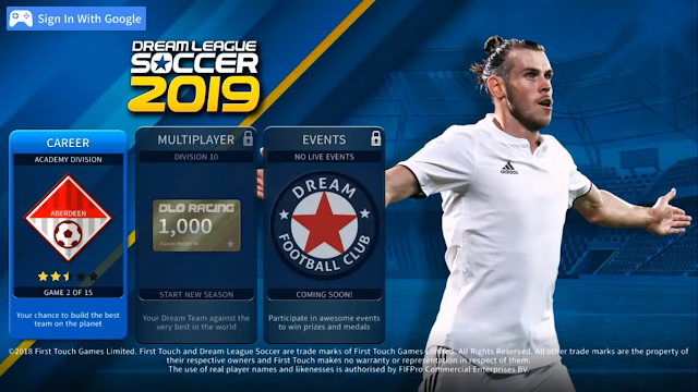 Dream League Soccer 2019 Mod Unlimited Money Full