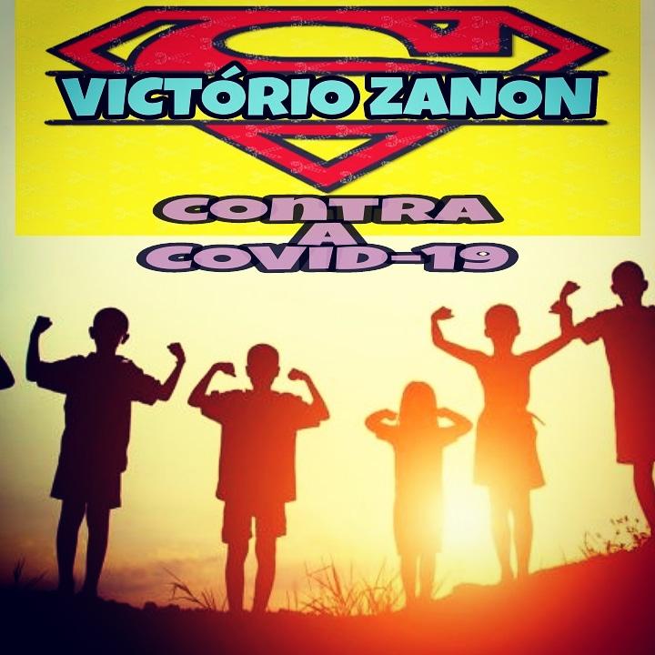 Escola Municipal Victorio Zanon  de Cajati contra a Covid-19