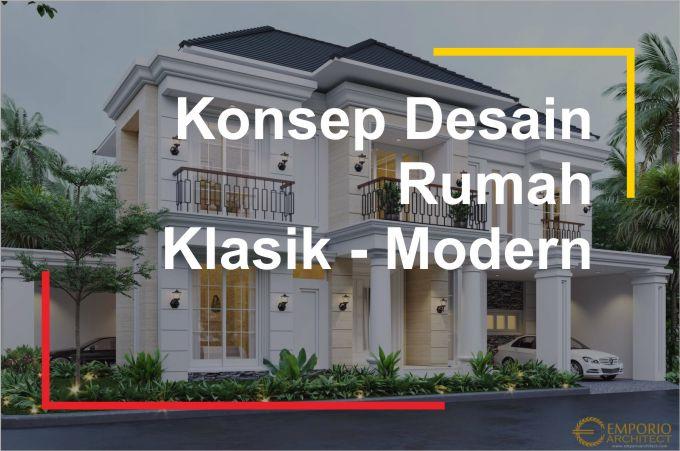 referensi konsep desain arsitektur klasik modern