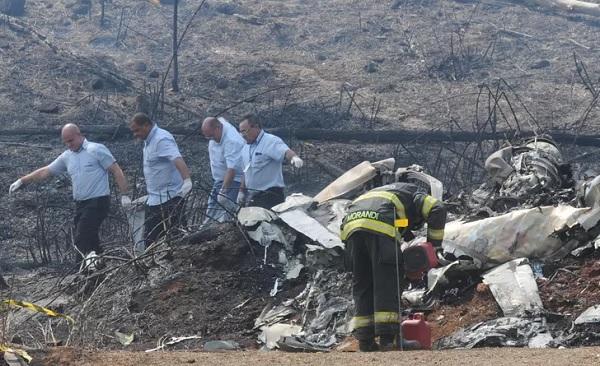 Vídeo mostra o momento exato da queda do avião em Piracicaba. Imagem é impactante