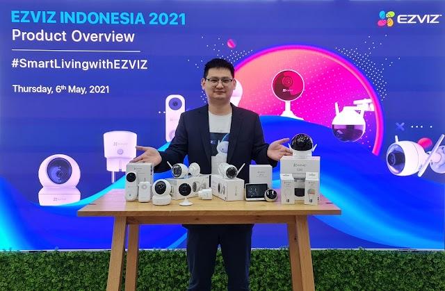 EZVIZ Perkuat Kehadirannya dengan Memperkenalkan 10 Produk Smarthome Berkualitas untuk Masyarakat Aceh dan Padang