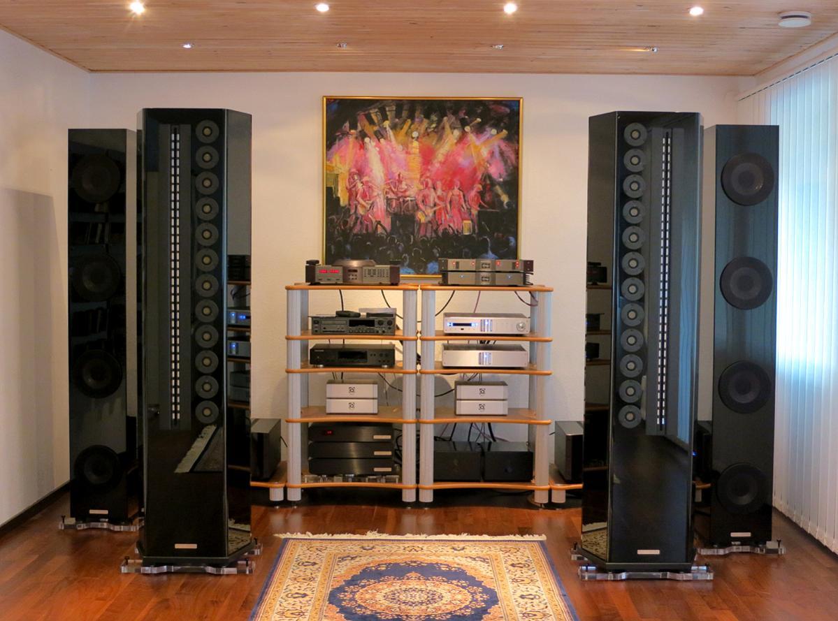 Wizard High End Audio Blog Setup Genesis 2 2 Speakers