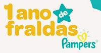 Promoção 1 ano Fraldas Pampers Grátis descubrapg.com.br/umanodepampers