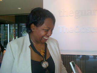 Little M from the We Sat Down blog interviews Malorie Blackman for Booktrust