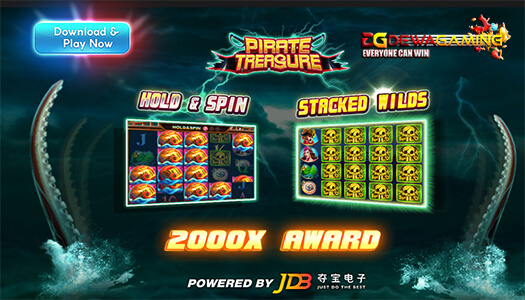 JDB Gaming Pirate Treasure
