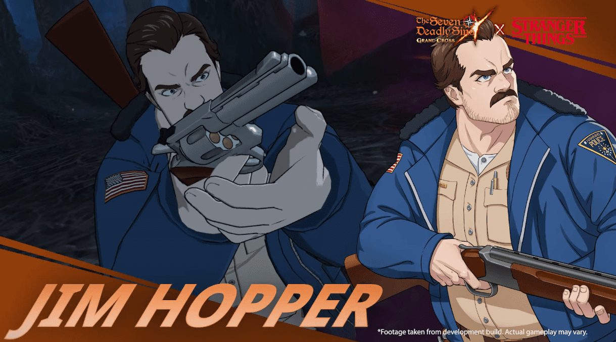Seven Deadly Sins Collab Stranger Things Jim Hopper