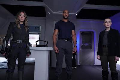 Daisy, Mack, and Jemma in Marvel's Agents of SHIELD s6e12