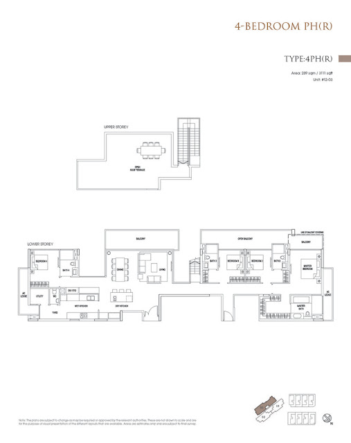 Goodwood Grand 4BR Floor Plan