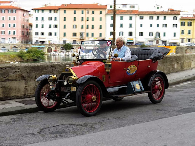 La Toscana e le su' genti, Tuscany and its People, raduno d'auto d'epoca, Livorno