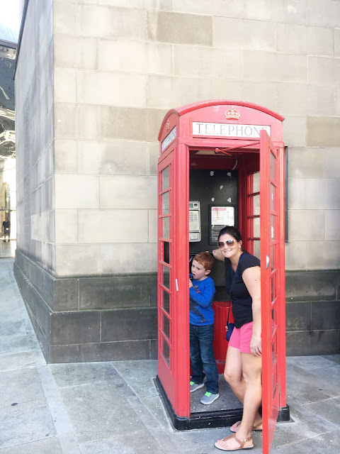 Manchester, England with kids