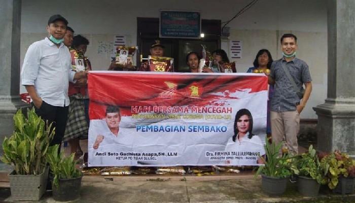 'Gerindra Peduli' Bantu Masyarakat Toraja Terdampak Covid-19