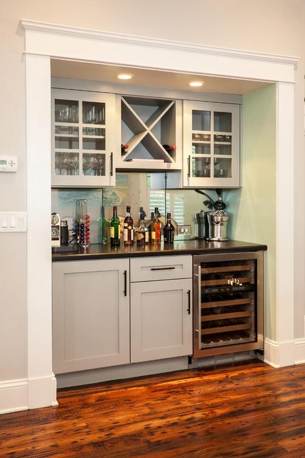 Decore com gigi dicas da gigi - Built in home bar ...